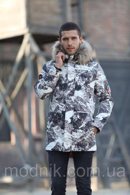 Мужская зимняя куртка-парка (до -15) - Турция