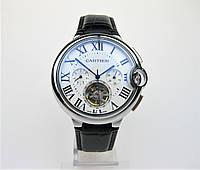 Часы CARTIER Ballon Bleu de Tourbillon 45mm Silver/White. Replica: AAA., фото 1