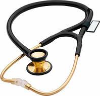 797К Стетоскоп кардиологический, классический, золотой MDF, цвет 11