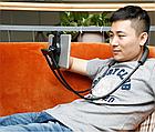 Держатель для телефона на шею Baseus Necklace Lazy Bracket. Универсальный гибкий держатель для гаджетов, фото 2
