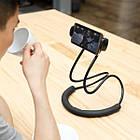 Универсальный гибкий держатель для телефона на шею Baseus Necklace Lazy Bracket, фото 9