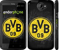 "Чехол на HTC One X Боруссии ""2748c-42"""