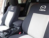 Чехлы для сидений Оригинальные Mazda 5 (7мест) с 2005 10 г (Elegant) - Чехлы в салон Мазда 5
