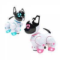 Интерактивная собака-робот PUPPY STUNT ROLL + часы-пульт