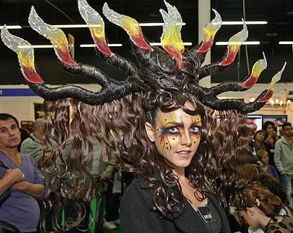 Неземная красота в Тел-Авиве: Cosmobeauty 2012