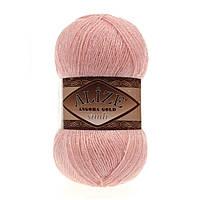 ANGORA GOLD SIMLI 363 светло-розовый - 20% шерсть, 5% металлик, 75% акрил