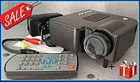 Портативный проектор UNIC 28 + WiFi с динамиком мультимедийный проектор, высокое разрешение,