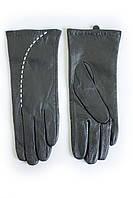 Женские кожаные перчатки ВЯЗКА Сенсорные Большие W22-160113s3, фото 1