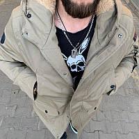 Мужская зимняя куртка-парка (до -20) - Турция, фото 1