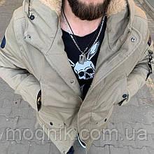 Мужская зимняя куртка-парка (до -20) - Турция