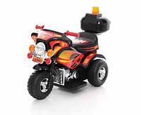 Детский электромобиль,мотоцикл Police,черный