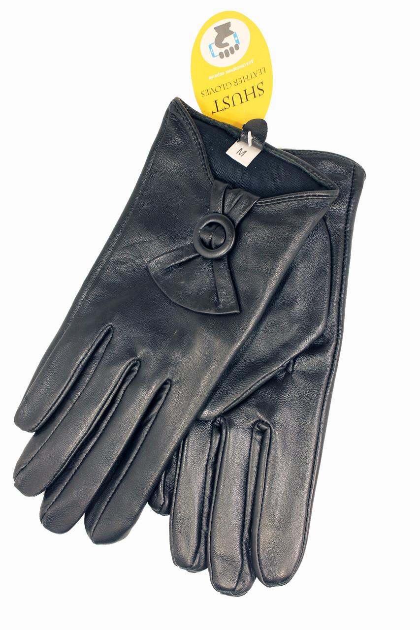 Женские кожаные сенсорные перчатки Большие