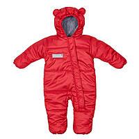 Комбинезон зимний детский Discovery Красный
