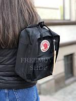 Рюкзак чёрный Fjallraven Kanken mini 7 L