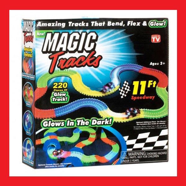 Гоночный трек Magic Tracks 220 деталей, лучший подарок вашему сыну!