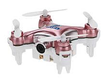 Квадрокоптер с камерой Wi-Fi Cheerson CX-10W нано (розовый)