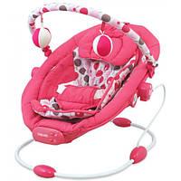 Детский укачивающий центр Baby Mix Польша розовый LPC-BR245-014-P