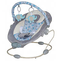Детский укачивающий центр Baby Mix Польша серый LCp-BR245-LT