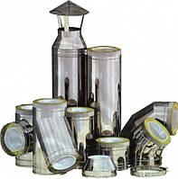 Комплект димоходу нержавіюча сталь AISI 430 в нержавіючій сталі 150/220