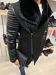 Мужское модное утепленное пальто (черное) - Турция, фото 5