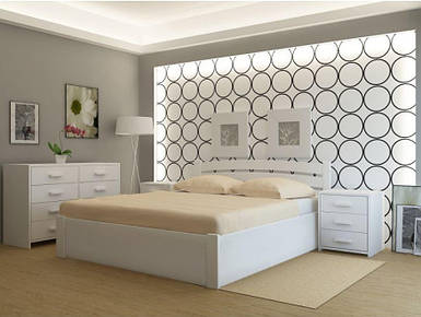 Кровать деревянная Madrid PLUS