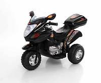 Детский электромобиль,мотоцикл Sport,черный