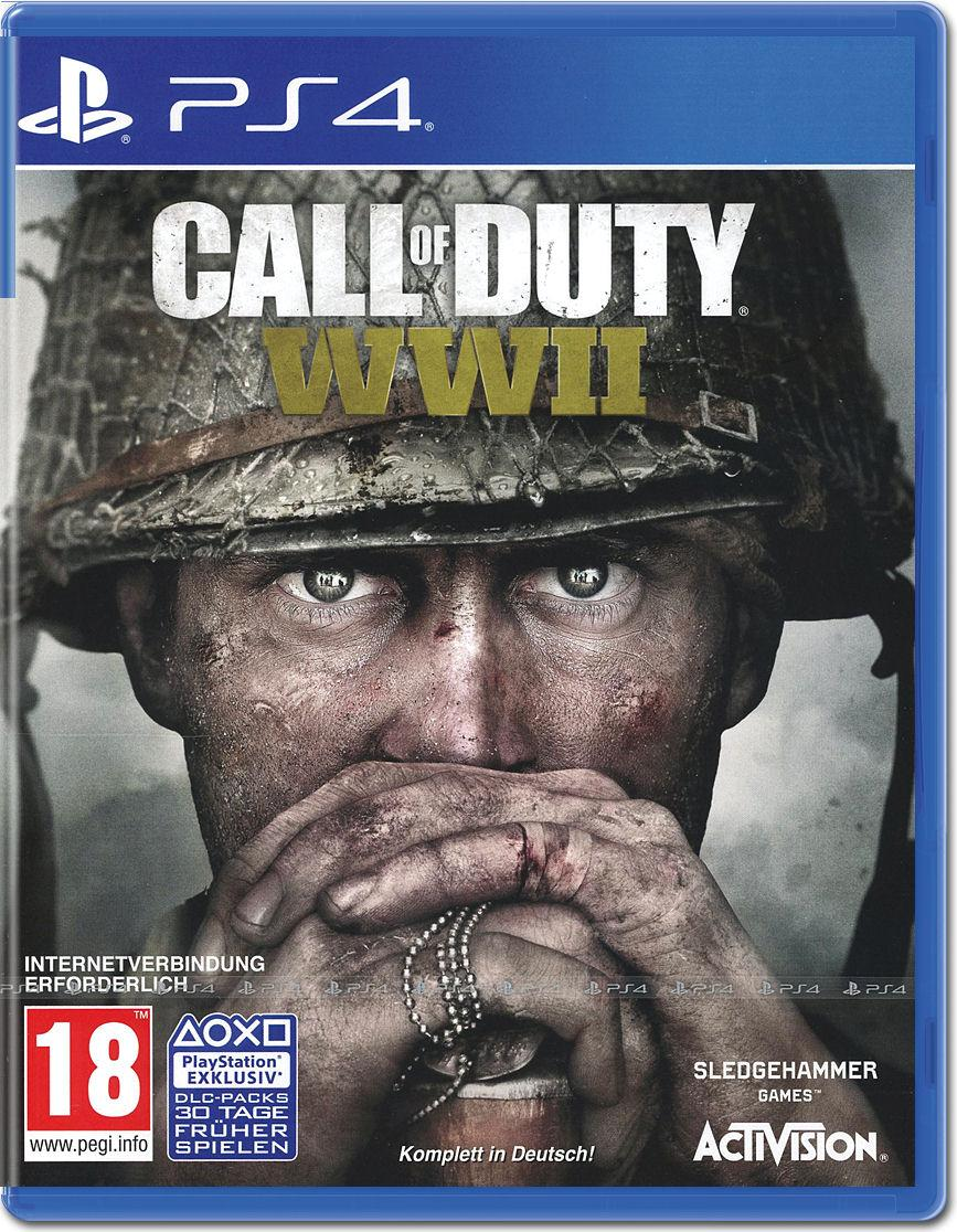 Игра Call of Duty: WWII для PS4