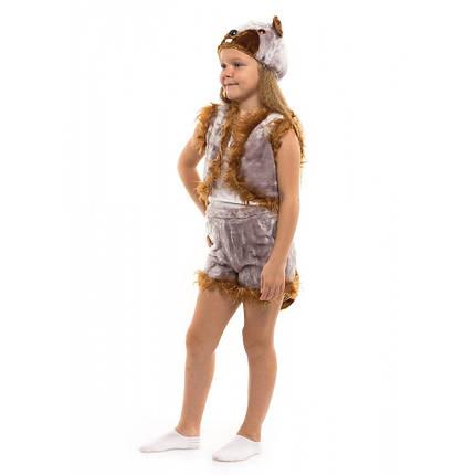 Карнавальный костюм Бобра для детей возрастом от 3 до 7 лет, фото 2