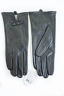 Женские кожаные перчатки Кролик Сенсорные Большые 2-339, фото 1