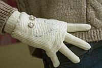 Вязаные перчатки + митенки, фото 1