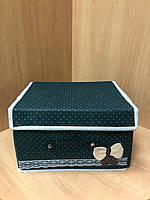 Ящик для хранения вещей тканевый