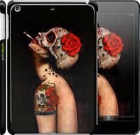 """Чехол на iPad mini Девушка в маске черепа """"853c-27"""""""
