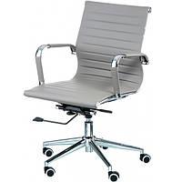 Кресла для руководителя Solano 5 artleather grey E6071