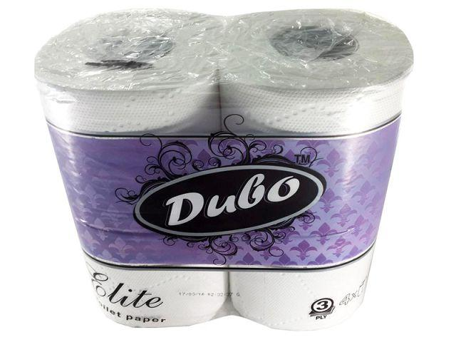 Туалетная бумага  белая 4 шт. Диво ЭЛИТ