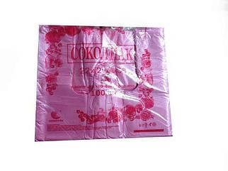 Пакеты майка фасовочные 22см 38см Сокол Пак цветная 100шт