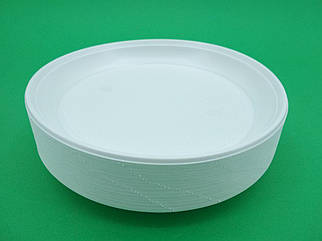 Тарелка пластиковая одноразовая  205мм Андрекс 100 шт