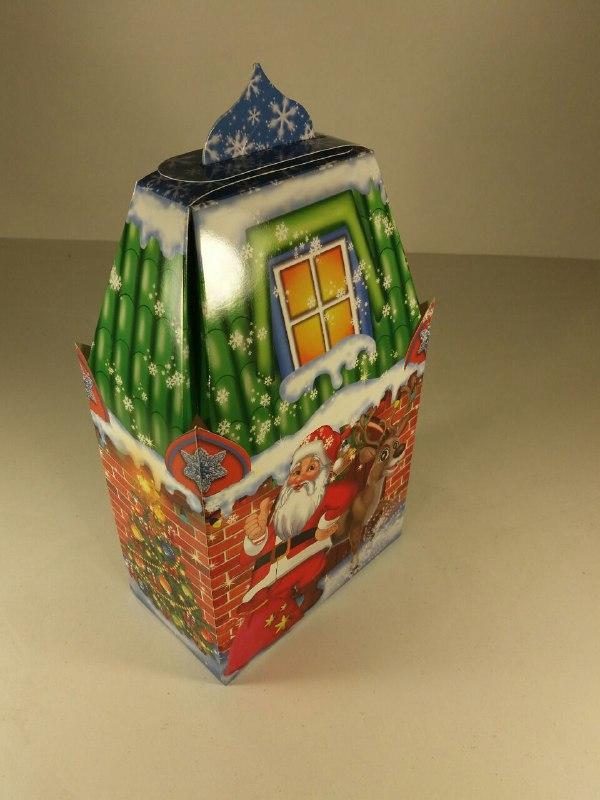 Коробка под конфеты Олень 500гр уп 25 штук