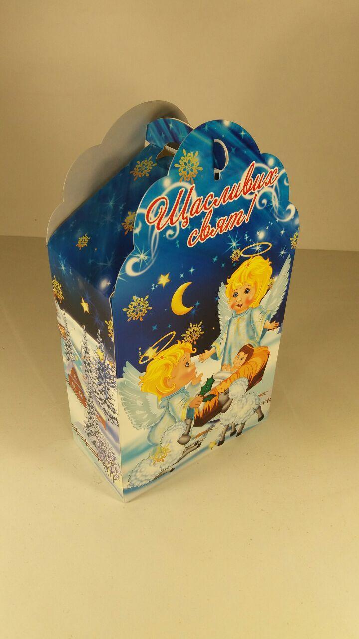 Коробка под конфеты Ангелы 500гр уп 25 штук