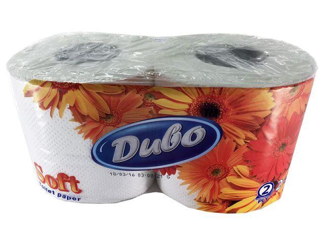 Туалетная бумага  белая 2 шт. Диво SOFT