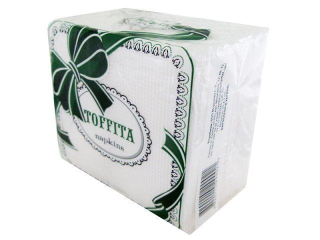 Cалфетка 55 лист Тофита однотонная 10 пач