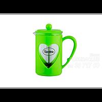 Заварник Con Brio СВ5660зелен,стекло,пластик,600мл Con Brio СВ5660зелен