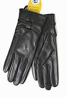 Женские кожаные черные перчатки Сенсорные Большие 10W-338s3, фото 1