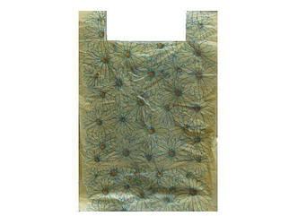 Пакеты майка 45см 25см Ромашки (100 шт)