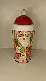 Тубус под конфеты большой Дед мороз
