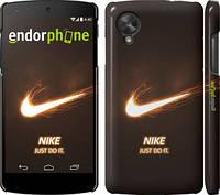 "Чехол на LG Nexus 5 Nike 4 ""1000c-57"""