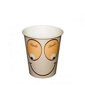 Бумажный стаканчик 175мл Smile (50 шт)