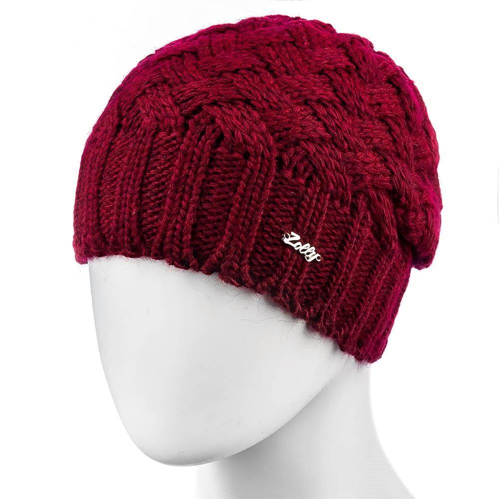 Шапка женская Zolly 04 размер 56-59 красная