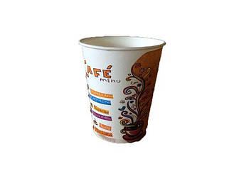 """Бумажный стаканчик 110 мл """"Cafe menu"""" Маэстро (50 шт)"""