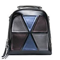 Женский кожаный рюкзак трансформер