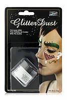 MEHRON Рассыпчатые блестки Glitter Dust, Opalescent White (Белый), 7 г, фото 1
